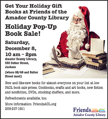 Holiday Pop-Up Book Sale flyer